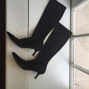 Stuart Weitzman Black suede boots